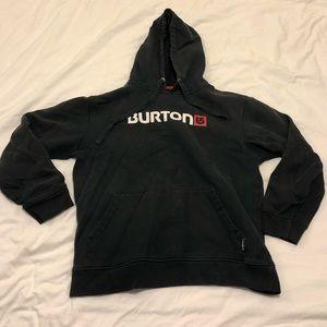 Burton Pullover Hoodie Black Medium